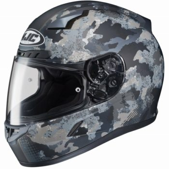 HJC CL 17 Void MC5F Matt Camo Black Grey Full Face Helmet 1