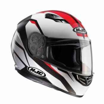 HJC CS 15 Sebka MC1 Matt White Red Black 1