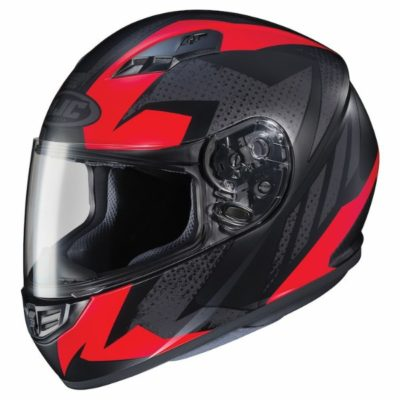 HJC CS 15 Treague MC1SF Matt Black Grey Red Full Face Helmet 1