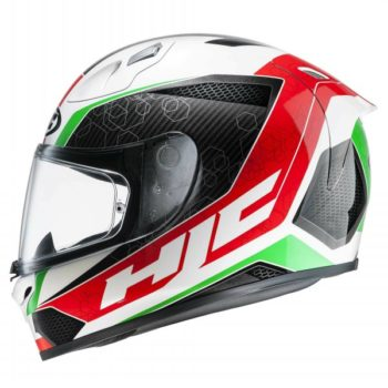 HJC FG 17 Ohama MC1 Matt White Black Red Green 1