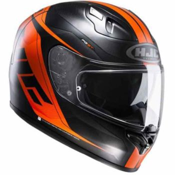 HJC FGST Chrono MC7SF Matt Black Orange Full Face Helmet