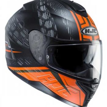 HJC IS 17 Enver MC6HSF Matt Black Orange Full Face Helmet