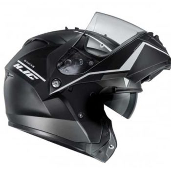HJC IS Max 2 Mine Matt Black Flip Up Helmet 1