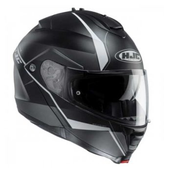 HJC IS Max 2 Mine Matt Black Flip Up Helmet 2
