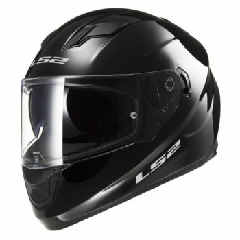 LS2 FF 320 Solid Matt Black Full Face Helmet 1