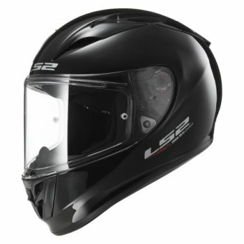 LS2 FF 323 Arrow R Solid Gloss Black Full Face Helmet 1