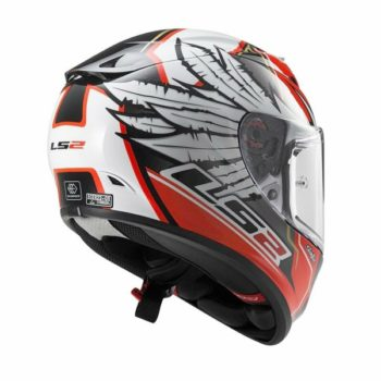 LS2 FF 323 Arrow Yonny Hernandez Replica Gloss White Red Full Face Helmet 2