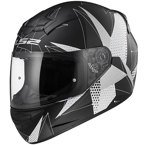 LS2 FF 352 Brilliant Matt Black Titanium Full Face Helmet 2