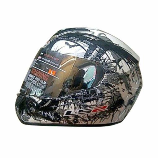 LS2 FF 352 Phobia Matt Pearl White Black Full Face Helmet