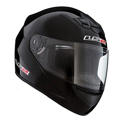 LS2 FF 352 Solid Gloss Black Full Face Helmet