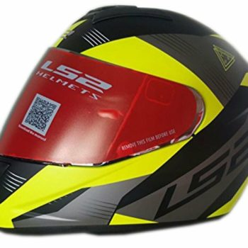 LS2 FF 352 Trooper Highway Yellow Matt Full Face Helmet