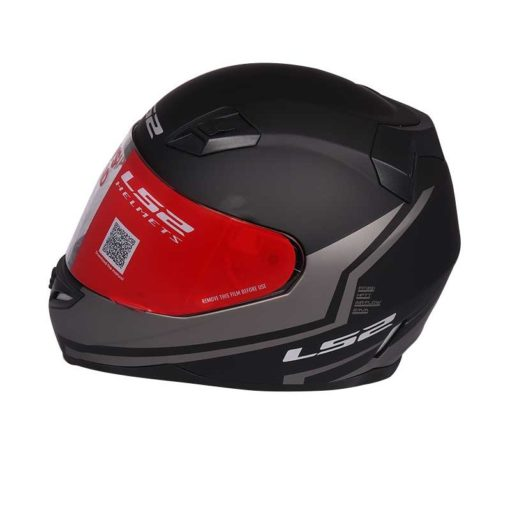 LS2 FF 391 Piston Matt Black Grey Full Face Helmet