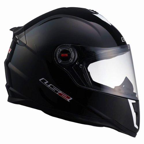 LS2 FF 392 Solid Matt Black Full Face Helmet 1