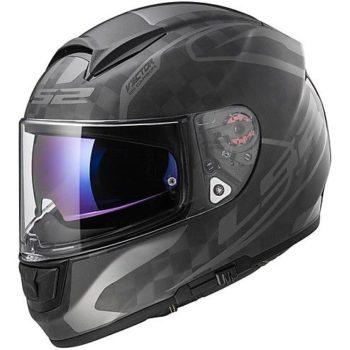 LS2 FF 397 Carbon Vector C Class gloss Full Face Helmet