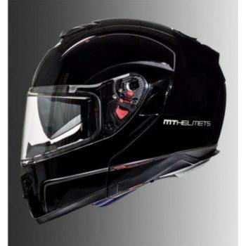 MT Atom SV Raceline Evo Gloss Black Flip Up Helmet 2