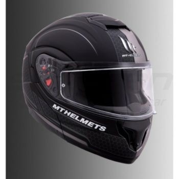 MT Atom SV Raceline Evo Matt Grey Flip Up Helmet 1