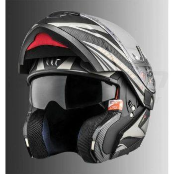MT Atom SV Tech SX1 Matt Gold Flip Up Helmet 1