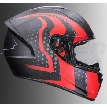 MT Stinger Warhead Matt Red Full Face Helmet 1
