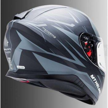 MT Thunder 3 SV Effect Matt Black Grey Full Face Helmet 2