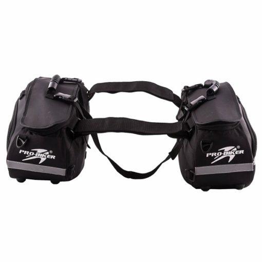Pro biker long ranger saddle bag 0