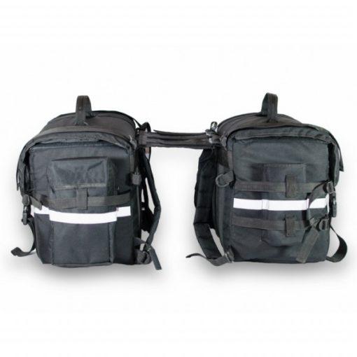 Road Gods Triton x2 Black Saddle Bag 5