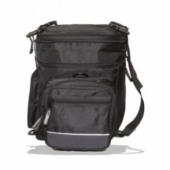 Rynox Hawk Black Tail Bag 3