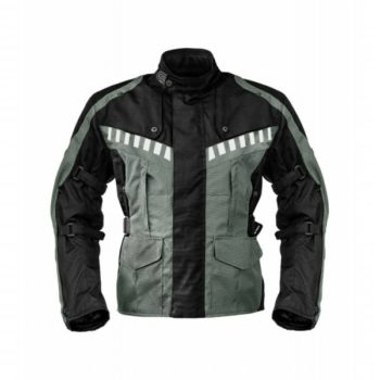 Rynox Stealth Evo Black Grey Riding Jacket 1