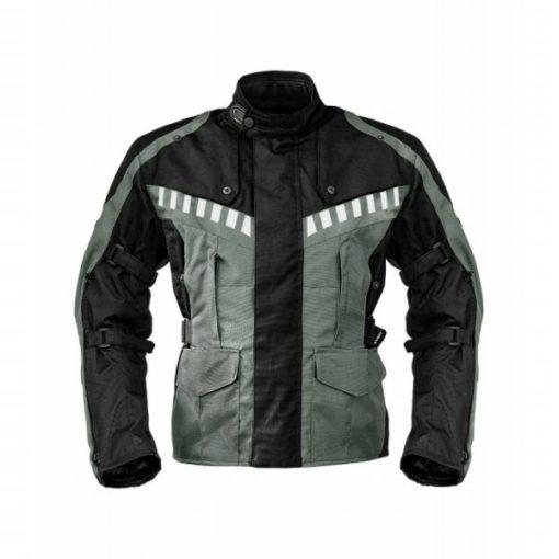 Rynox Stealth Evo Black Grey Riding Jacket 1