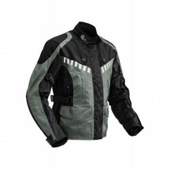 Rynox Stealth Evo Black Grey Riding Jacket 2