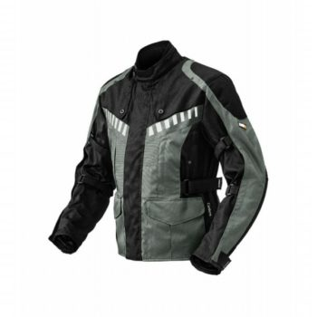 Rynox Stealth Evo Black Grey Riding Jacket 3