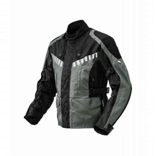 Rynox Stealth Evo Black Grey Riding Jacket 3