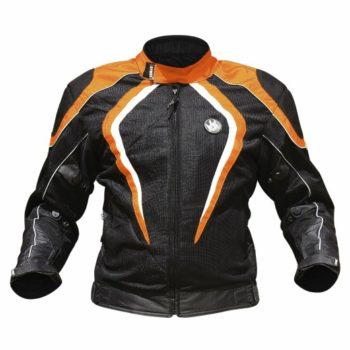 Rynox Tornado Pro V1 Black Orange Riding Jacket 1
