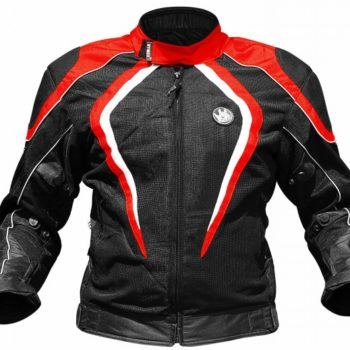 Rynox Tornado Pro V2 Black Red Riding Jacket 1