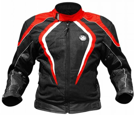 Rynox Tornado Pro V2 Black Red Riding Jacket 1