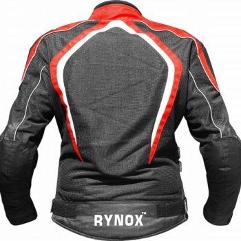Rynox Tornado Pro V2 Black Red Riding Jacket 2