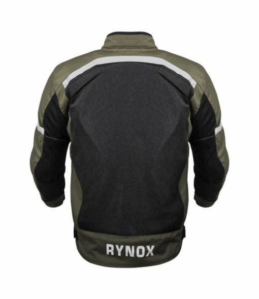 Rynox Urban Battle Green With Reflectors Riding Jacket 2