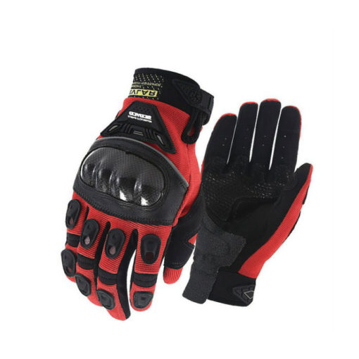 Scoyco 14B Black Red Gloves1