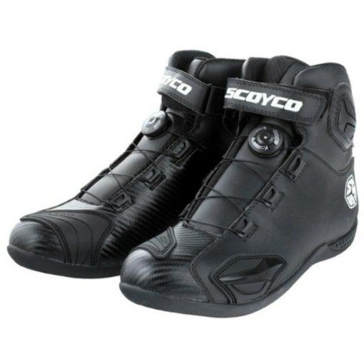 Scoyco MBT 010 Black Boots2