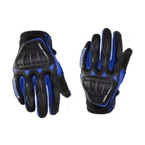 Scoyco MC08 Black Blue Gloves 1