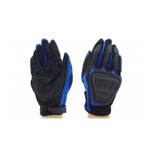 Scoyco MC08 Black Blue Gloves 2