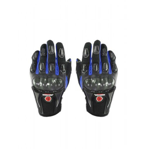 Scoyco MC09 Black Blue Gloves 2