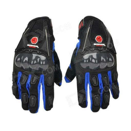 Scoyco MC09 Black Blue Gloves
