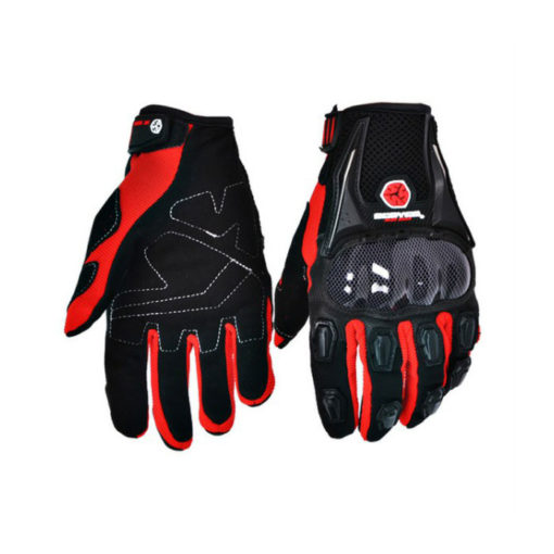 Scoyco MC09 Black Red Gloves 2