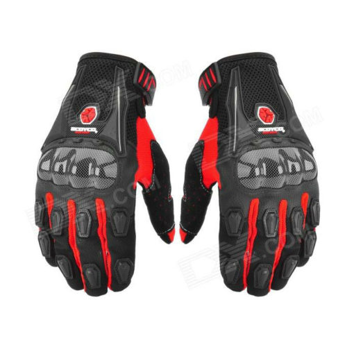 Scoyco MC09 Black Red gloves1