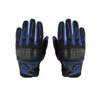 Scoyco MC23 Black Blue Gloves 1
