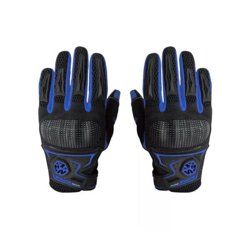 Scoyco MC23 Black Blue Gloves 1