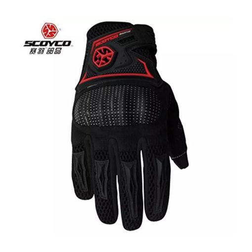 Scoyco MC23 Black Red gloves 1
