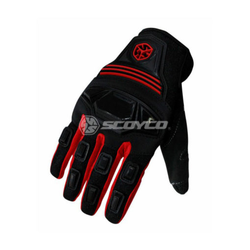 Scoyco MC24 Black Red Gloves2