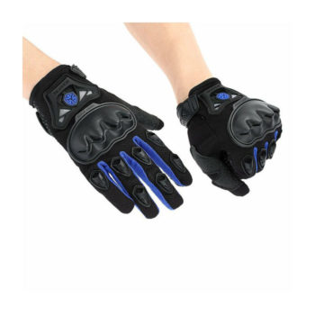 Scoyco MC29 Black Blue Gloves 2