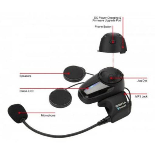 Sena SMH10 Motorcycle Bluetooth And Intercom 6
